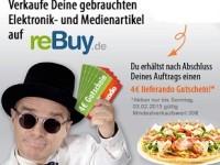 Gebrauchte Artikel bei reBuy.de verkaufen und Gutschein für lieferando bekommen