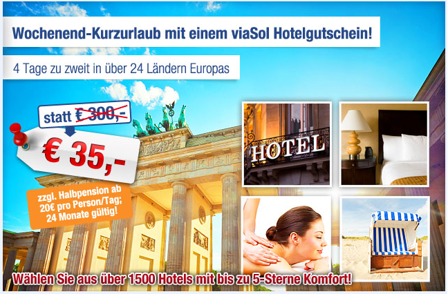 viaSol-FLEXIBREAKS-Hotelgutschein