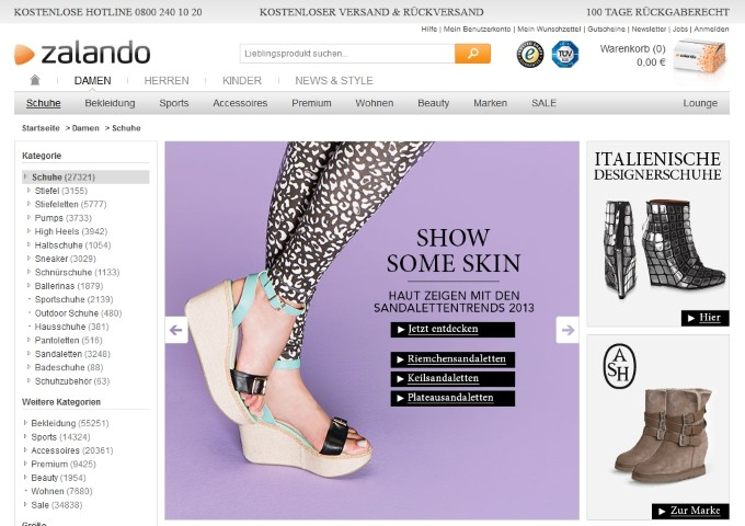 zalando Schuhe (Small)