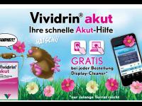 Shop-Apotheke: Vividrin gegen akuten Heuschnupfen + Displayreiniger