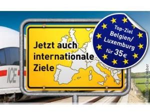 LTUR Fernweh Ticket März 2013: 35 Euro Bahn Tickets nach Belgien/Luxemburg