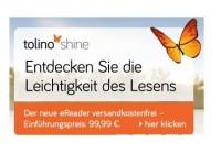 Tolino: eBook-Reader für 99,99 Euro bei Hugendubel