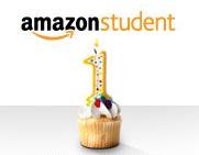 Amazon Student feiert 1. Geburtstag mit tollen Angeboten