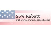 English Books: 25 Prozent Rabatt bei Thalia