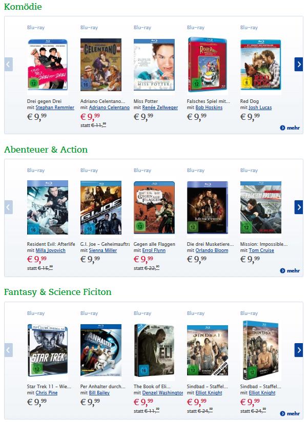 Thalia Blu-ray Aktion Angebote