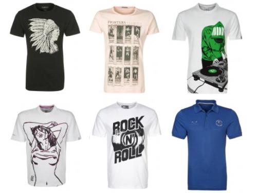 premium selection 1476a 1948d Zalando Herren T-Shirt Sale bietet bis zu 69 Prozent Rabatt ...