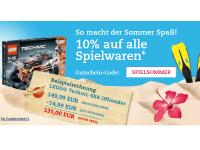 10 Prozent Thalia Spielwaren Gutschein bis 30. Juni 2013