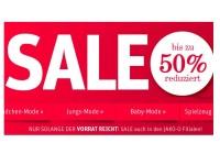 Jako-o Sale: 50 Prozent auf sommerliche Kinderbekleidung