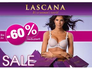 LASCANA Sale bis 31. Juli 2013: Dessous + Bademode bis zu 60 Prozent reduziert