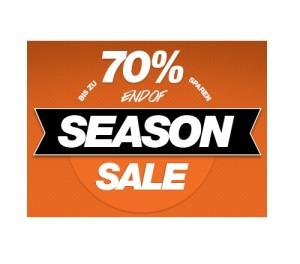 """Bis zu 70 Prozent Rabatt im """"End of Season"""" Sale bei Planet Sports"""