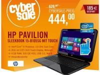 Cyberport Cybersale: HP Pavilion Sleekbook 15 für nur 444 Euro