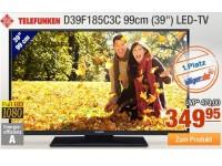 Plus des Tages: Über 100 Euro Rabatt auf Full HD Fernseher