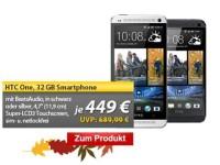 HTC One mit Beats Audio bei MeinPaket.de für nur 449 Euro