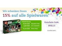 Thalia.de: Nur bis zum 28.10. gibt es 15 Prozent auf Spielwaren