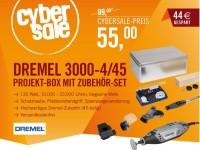 Cyberport Cybersale: DREMEL 3000 plus Zubehör-Set für nur 55 Euro