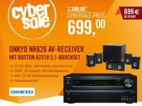 Cyberport Cybersale: Onkyo Receiver mit Lautsprecherset nur 699 Euro