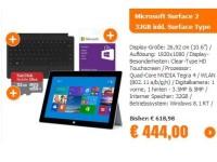 Notebooksbilliger.de: Nur 444 Euro für das Microsoft Surface 2