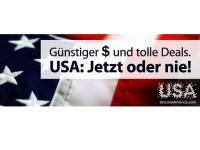 Mit ebookers.de in die USA verreisen: Bis zu 60 Prozent Rabatt