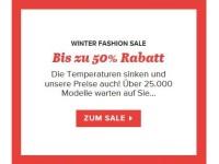 Winter-Fashion-Sale bei sarenza.de: Bis zu 50 Prozent Rabatt