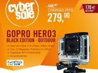 Cyberport Cybersale: GoPro Hero 3 Kamera für nur 279 Euro