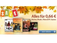 Lagerräumung bei reBuy.de: CDs, Bücher, PC-Spiele und DVDs nur 66 Cent