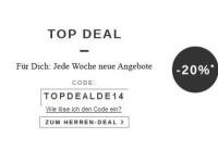 20 Prozent Rabatt auf Schmuck im Zalando Online Shop für Damen und Herren
