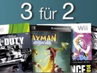 Games-Aktion bei Amazon: 3 für 2