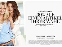 Online-Rabatt bei H&M: 30 % auf beliebigen Artikel
