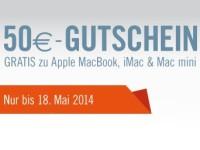 Cyberport: 50 € Gutschein bei Kauf von Apple Macs