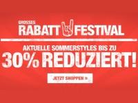 Rabatt Festival bei Planet Sports: Bis zu 30% auf Sommerstyles