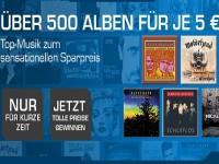 500 Alben für je 5 € bei Saturn