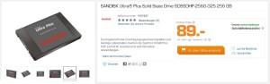 SanDisk Ultra Plus im Saturn-Angebot
