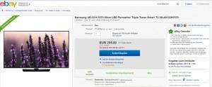 Ebay Samsung LED TV