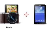 Samsung-Aktion bei Redcoon: Beim Kauf einer Kamera gratis Tablet dazu