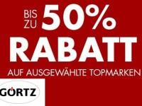Görtz-Onlinesale: bis zu 50% Rabatt sichern