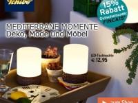 Tchibo: mediterraner Urlaub zu Hause mit 15%-Rabatt