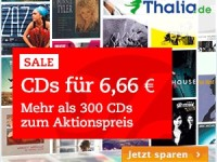 Thalia: CDs für nur 6,66 Euro und Puzzle unter 15 Euro
