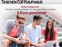 Exklusiver Studentenrabatt bei Taschenkaufhaus.de