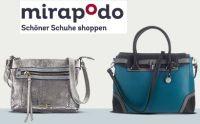 20 Prozent Rabatt auf Taschen bei mirapodo