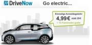 DriveNow Aktion: Anmeldegebühr nur 4,99 statt 29 Euro und 15 Freiminuten