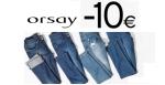 ORSAY: 10 Euro Rabatt auf alle Jeans dank Gutschein