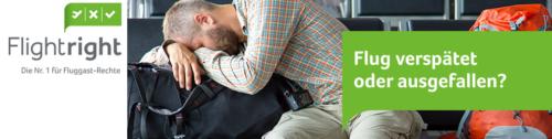 Flightright - Entschädigung bei Flugverspätung