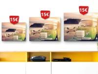 Meinxxl.de: Bis zu 75% Rabatt auf Leinwände