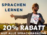 Spotlight: Alle Sprachmagazine 20% günstiger