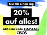 Nur heute: 20 Prozent auf alles bei ASOS