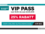 25 Prozent Rabatt im RUNNERS POINT VIP Sale