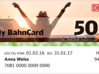 Die BahnCard 50 für nur 69 Euro für alle unter 27