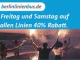 40 Prozent BerlinLinienBus Gutschein auf alle Linien