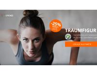 25% Gymondo Gutschein für alle Online Fitness Kurse