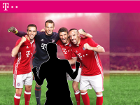 FC Bayern München Gewinnspiel der Telekom